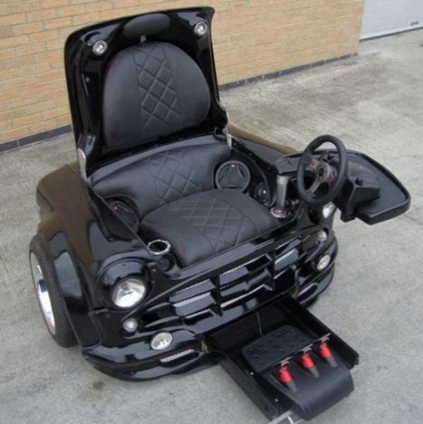 Игровое кресло из Мини Купера