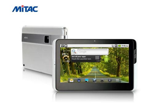 Компания MiTAC выпустит сразу четыре планшетника