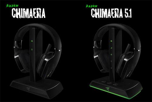 Razer анонсировала игровые наушники Chimaera