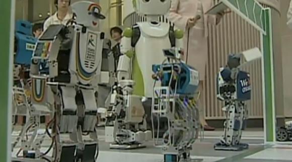 В Японии проходит первый в истории марафон роботов