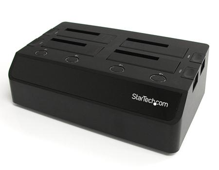 Док-станции от StarTech поддерживают четыре SATA HDD/SSD-привода одновременно