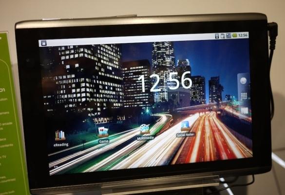 Стала известна дата выхода и цена планшетников Iconia Tab от Acer