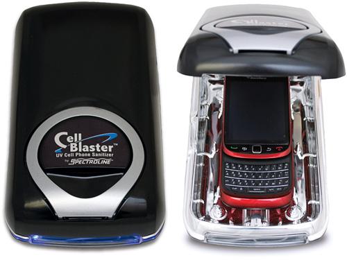 Ультрафиолетовый очиститель смартфонов CellBlaster