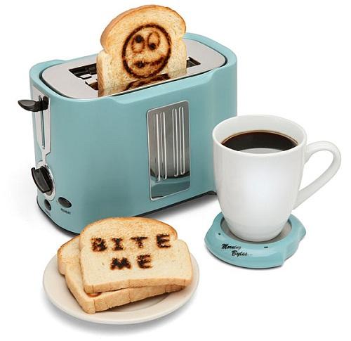 Pop Art Toaster сделает ваш завтрак более креативным