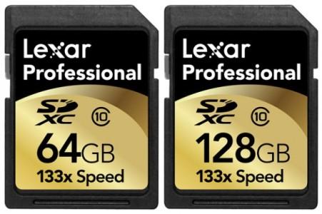 Lexar представила первую профессиональную карту памяти SDXC на 128 гигабайт
