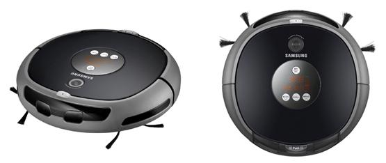 Робот-пылесос Samsung с микрофоном и видеокамерой