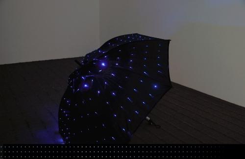 Зонт с подсветкой из светодиодов