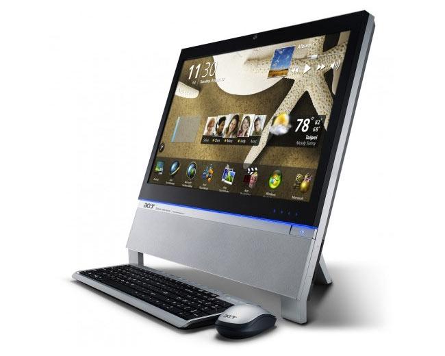 Десктоп с сенсорным экраном Aspire Z5761 от Acer