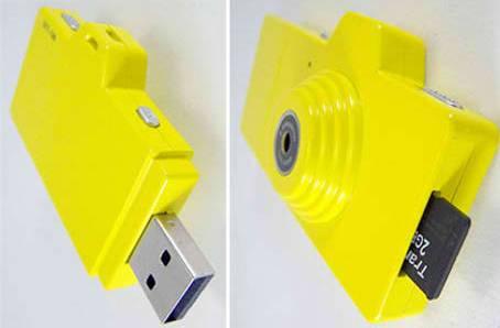 Fuuvi Pick – флешка и цифровая камера в одном устройстве