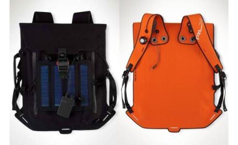 Рюкзаки с солнечными батареями от модельного дома Ralph Lauren
