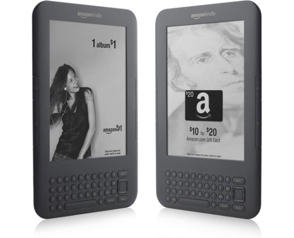 Amazon Kindle с рекламой за 4