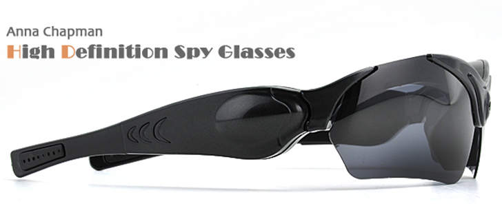 Anna Chapman High Definition Spy Glasses