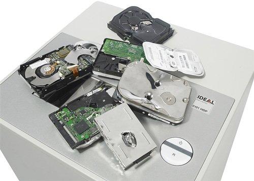 IDEAL 0101HDP - машина для уничтожения жестких дисков