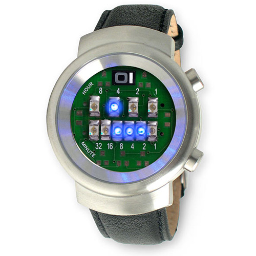 LED Binary Watch – бинарные часы для гиков