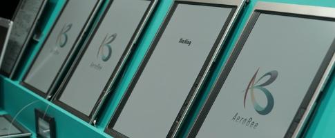 Компания Bridgestone показала самые большие E-Ink-планшетники в мире