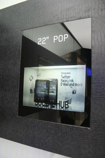 Samsung представит прозрачные LCD-дисплеи для массового производства