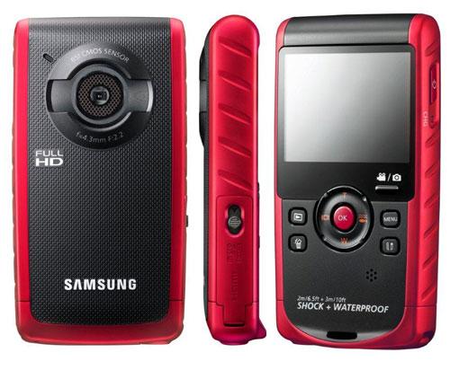 Защищенный камкордер W200 от Samsung сохранит память о ярких переживаниях