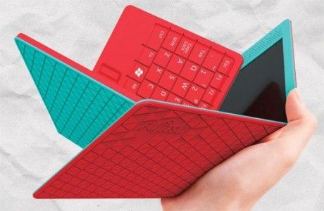 Концепт гибкого лэптопа Flexbook