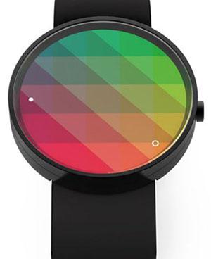 Красочные часы Kaleidoscope Watch от GRO Design