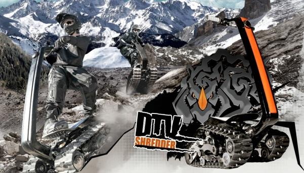 DTV Shredder - гусеничный внедорожник для экстремалов