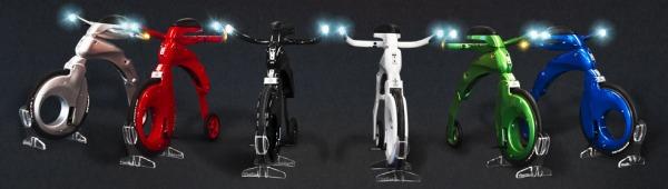 Вышла более дешевая версия электрического складного велосипеда Yike Bike