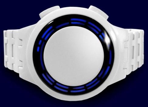 Часы Kisai RPM белого цвета