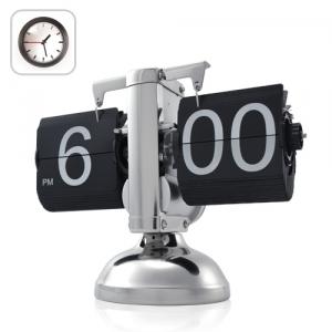 Ретро часы с интересным механизмом работы