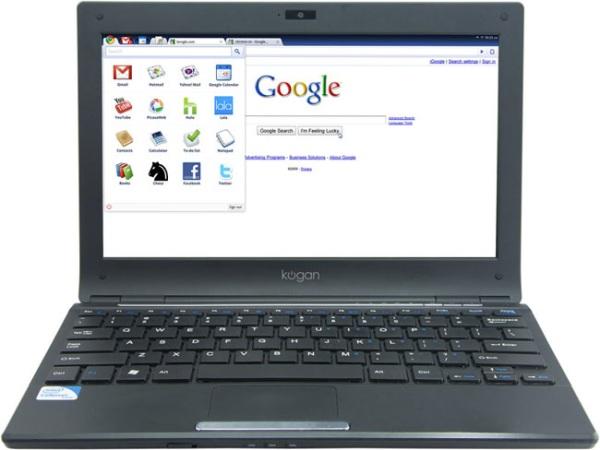 Первый ноутбук на Chromium OS от Kogan