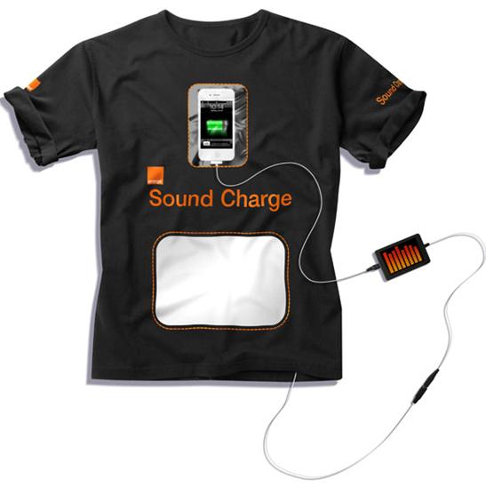 Orange Sound Charge T-Shirt