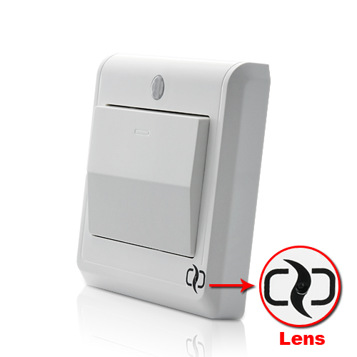 HD Spy Camera Light Switch