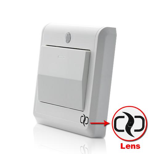 HD Spy Camera Light Switch