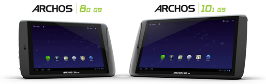 Archos G9 android планшет