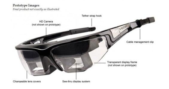 Новые очки для создания расширенной реальности от Vuzix