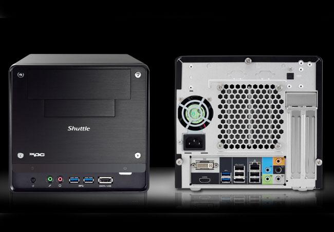 Компактная и производительная игровая система Shuttle H3 6700G