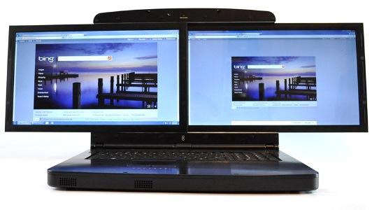 Первый в мире лэптоп с двумя экранами SpaceBook доступен для предзаказа