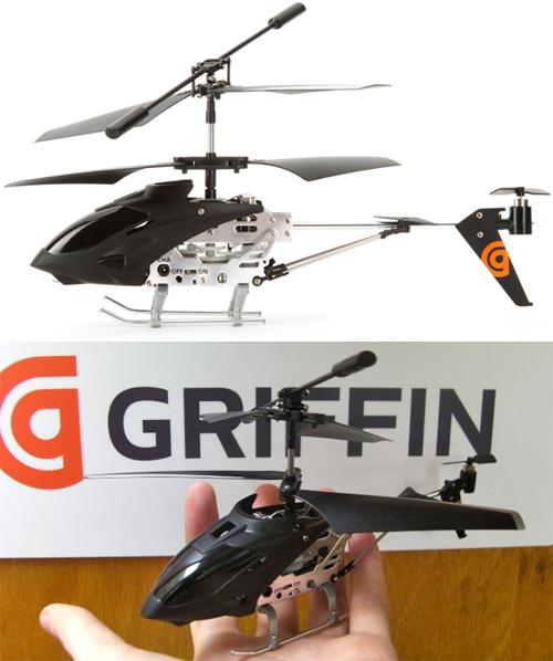 Griffin Helo TC – игрушечный вертолет для владельцев iPhone