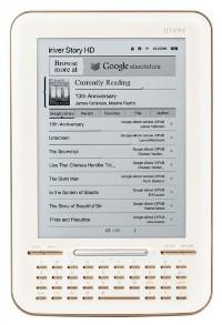 Первая в мире читалка с интегрированным сервисом Google eBooks от iRiver