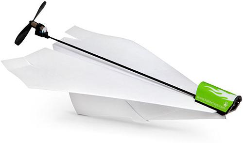 Electric Paper Airplane Conversion Kit – оригинальный тюнинг бумажных самолетиков