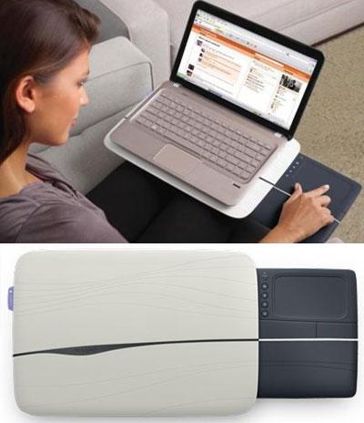 Logitech N600 Touch Lapdesk – функциональная подставка для лэптопа