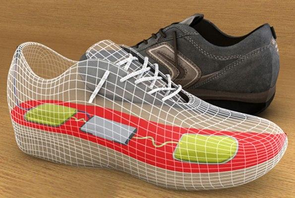 Спортивные туфли Nanopower преобразовывают энергию ходьбы в электроэнергию