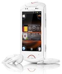 Молодежный мультимедийный смартфон Live with Walkman от Sony Ericsson