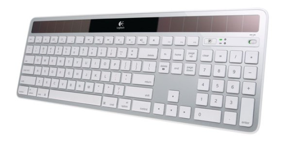 Беспроводная клавиатура на солнечных батареях для Mac от Logitech