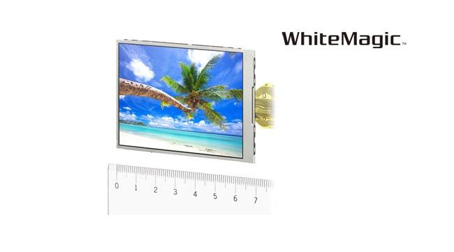 Мониторы с четвертым белым пикселем от Sony