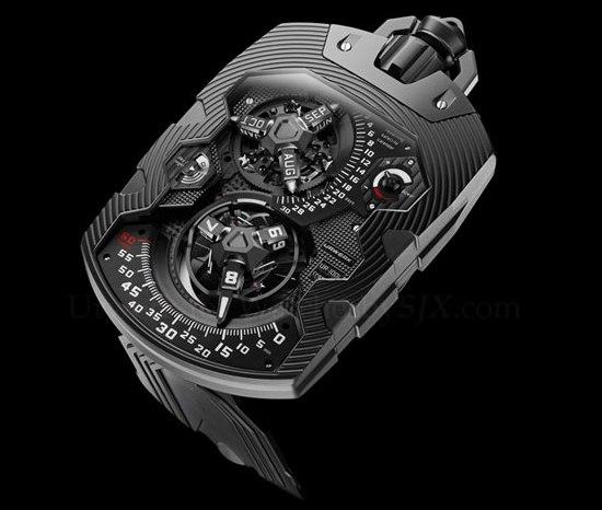 Шикарные карманные часы Urwerk UR-1001
