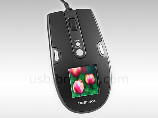 Оптическая мышь с цифровой фоторамкой