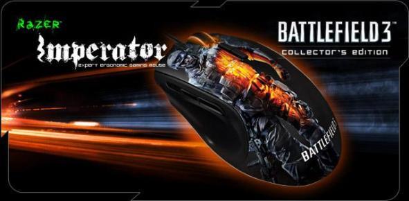 Геймерский набор Battlefield 3 от Razer и ЕА