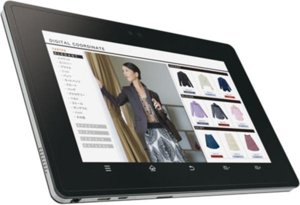 Sharp выпустит планшетник с NFC
