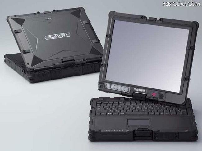 Защищенный гибридный ноутбук ShieldPRO N22G от NEC
