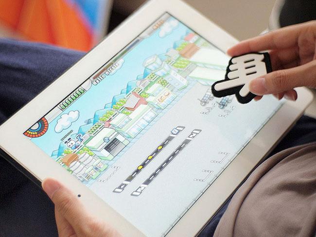 Big Big Cursor – «аппаратный курсор» для планшетника