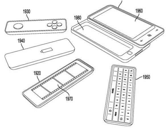 Концепт смартфона со съемными частями от Microsoft